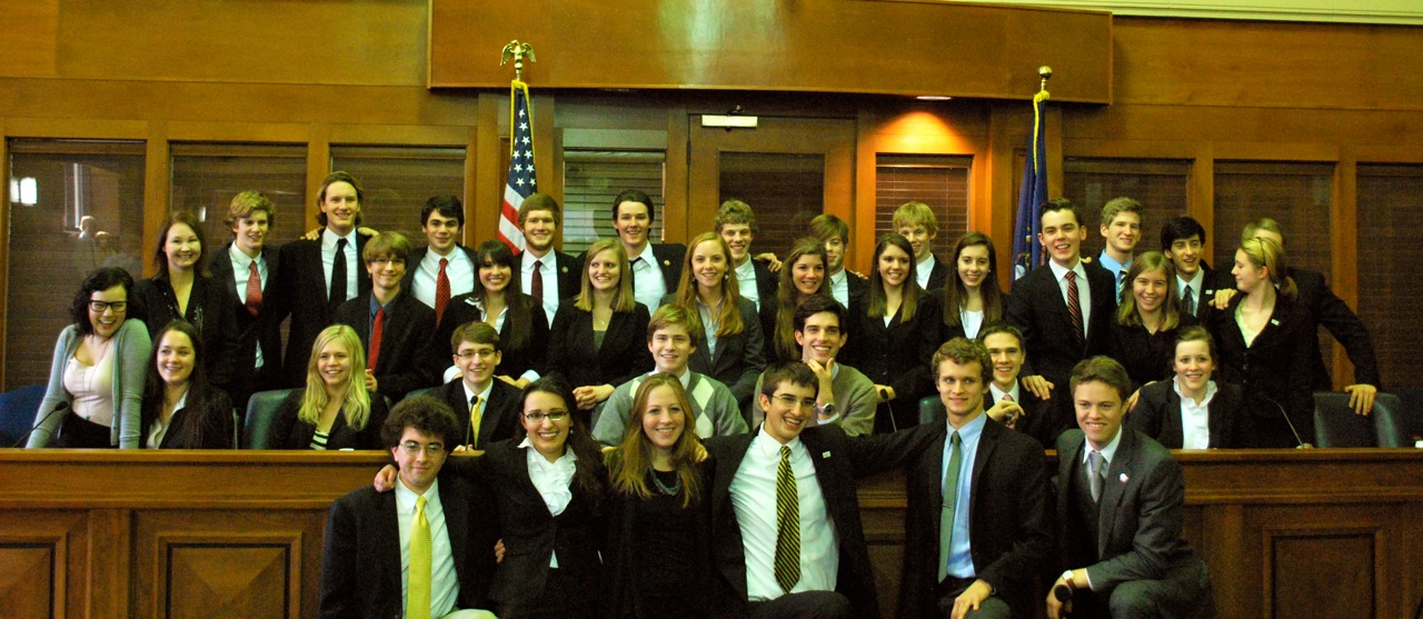 2012 First Place Michigan We the People Champions-East Grand Rapids High School